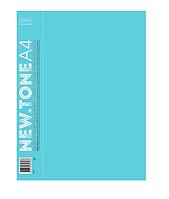 "Папка пластиковая ""Hatber Premium"", А4, 600мкм, 20 вкладышей, 14мм, серия ""NT Pastel - Незабудка"""