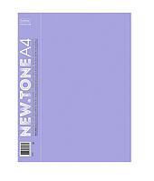 "Папка пластиковая ""Hatber Premium"", А4, 600мкм, 20 вкладышей, 14мм, серия ""NT Pastel - Лаванда"""