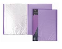 """Папка пластиковая """"Hatber"""", А4, 700мкм, 20 вкладышей, 14мм, серия """"Diamond Фиолетовая"""""""