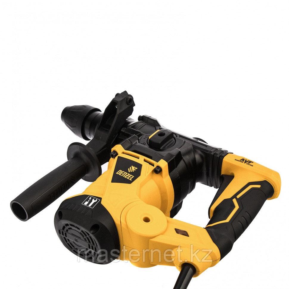 Перфоратор электрический RHV-1250-30, SDS-plus, 1250 Вт, 5 Дж, 3 плюс 1 реж.// Denzel - фото 2