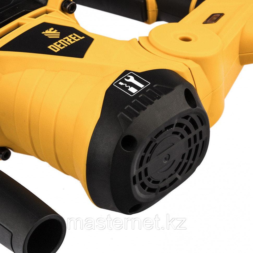 Перфоратор электрический RHV-1250-30, SDS-plus, 1250 Вт, 5 Дж, 3 плюс 1 реж.// Denzel - фото 7