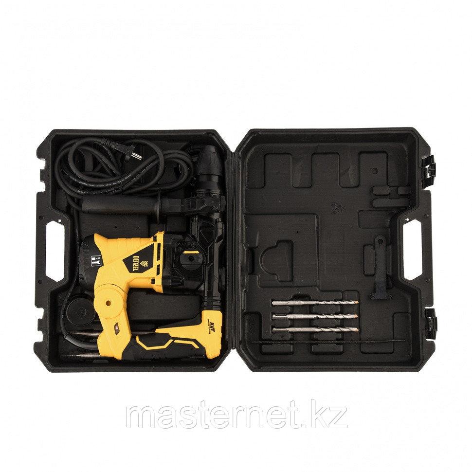 Перфоратор электрический RHV-1250-30, SDS-plus, 1250 Вт, 5 Дж, 3 плюс 1 реж.// Denzel - фото 9