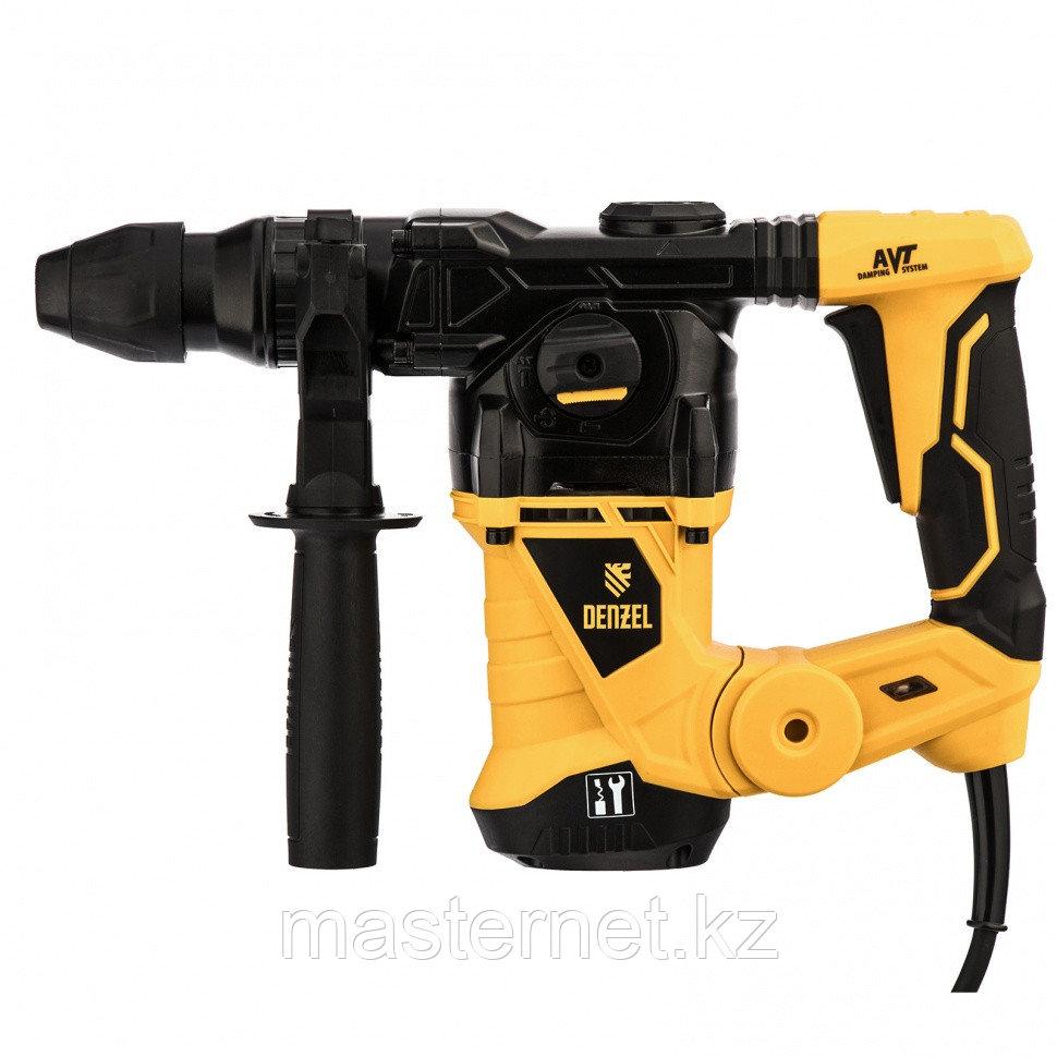 Перфоратор электрический RHV-1250-30, SDS-plus, 1250 Вт, 5 Дж, 3 плюс 1 реж.// Denzel - фото 10