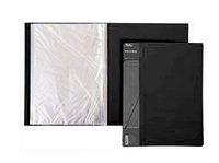 "Папка пластиковая ""Hatber"", А4, 800мкм, 100 вкладышей, 40мм, серия ""Standard Чёрная"""