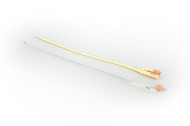 Катетер Фолея 2-х ходовой, с силиконовым покрытием, р.12FR однокр.прим. стер., фото 2