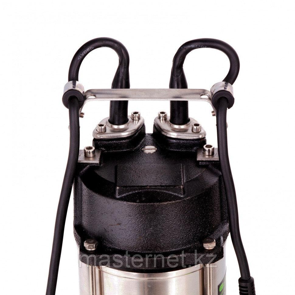 Фекальный насос СФН1100-Н, 1100 Вт, напор 10 м, 18000 л/ч, нож// Сибртех - фото 5