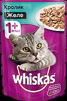 Whiskas c кроликом в желе