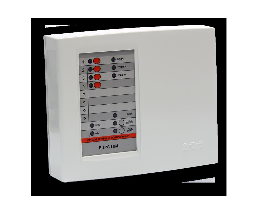 ВЭРС-ПК 4П Прибор приемно-контрольный охранно-пожарный