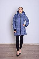 Куртка женская демисезонная Miegofce длинная голубая
