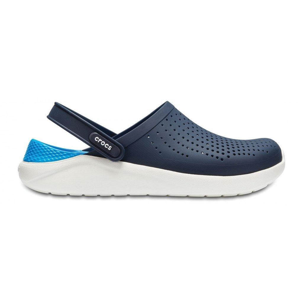 Сабо крокс Crocs LiteRide clog сине -голубой - фото 1