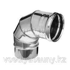 Колено угол 90°  (430/0,8 мм) Ф115 Ferrum