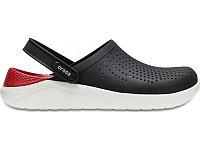 Сабо крокс Crocs LiteRide clog черно - красный