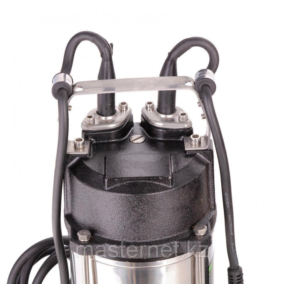 Фекальный насос СФН450, 450 Вт, напор 15 м, 21000 л/ч// Сибртех - фото 5