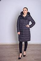 Куртка женская демисезонная Miegofce длинная черная