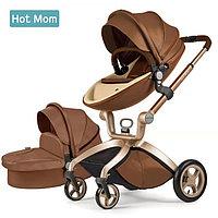 Коляска Hot Mom Leather 2 в 1