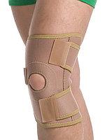 Бандаж на коленный сустав разьемный модель 6058 размер S/M Med textile