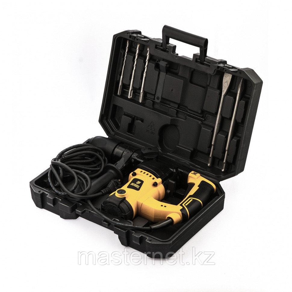 Перфоратор электрический RHV-1100-26, SDS-plus, 1100Вт, 4Дж, 3 реж.// Denzel - фото 8