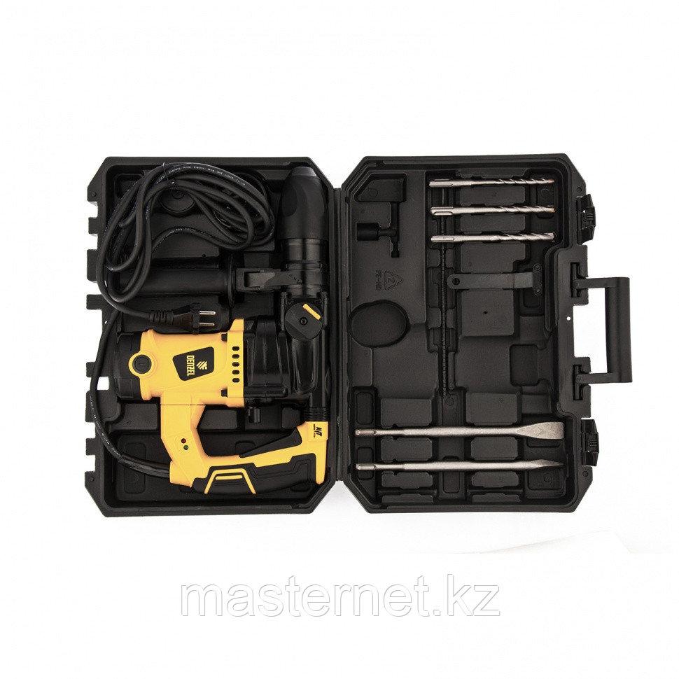 Перфоратор электрический RHV-1100-26, SDS-plus, 1100Вт, 4Дж, 3 реж.// Denzel - фото 9