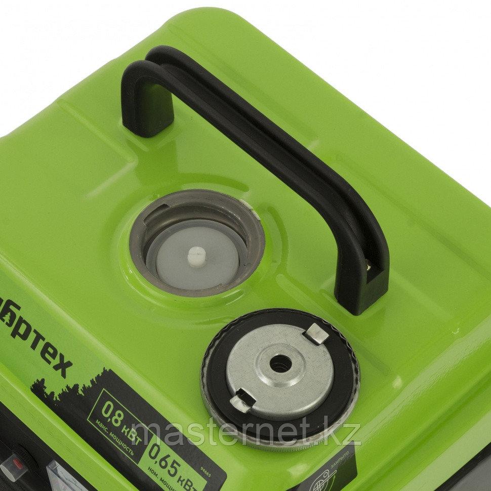 Генератор бензиновый БС-950, 0,8 кВт, 230 В, 2-х такт., 4 л, ручной стартер// Сибртех - фото 3