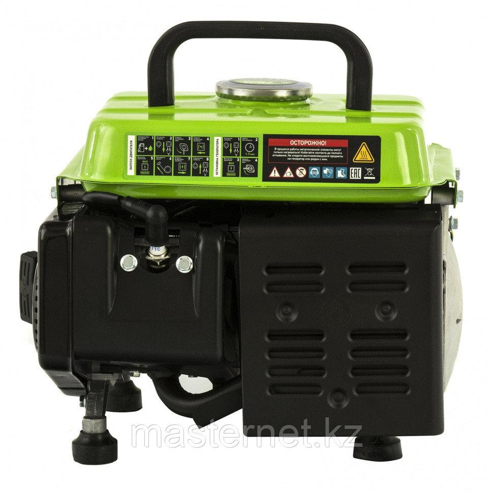 Генератор бензиновый БС-950, 0,8 кВт, 230 В, 2-х такт., 4 л, ручной стартер// Сибртех - фото 6