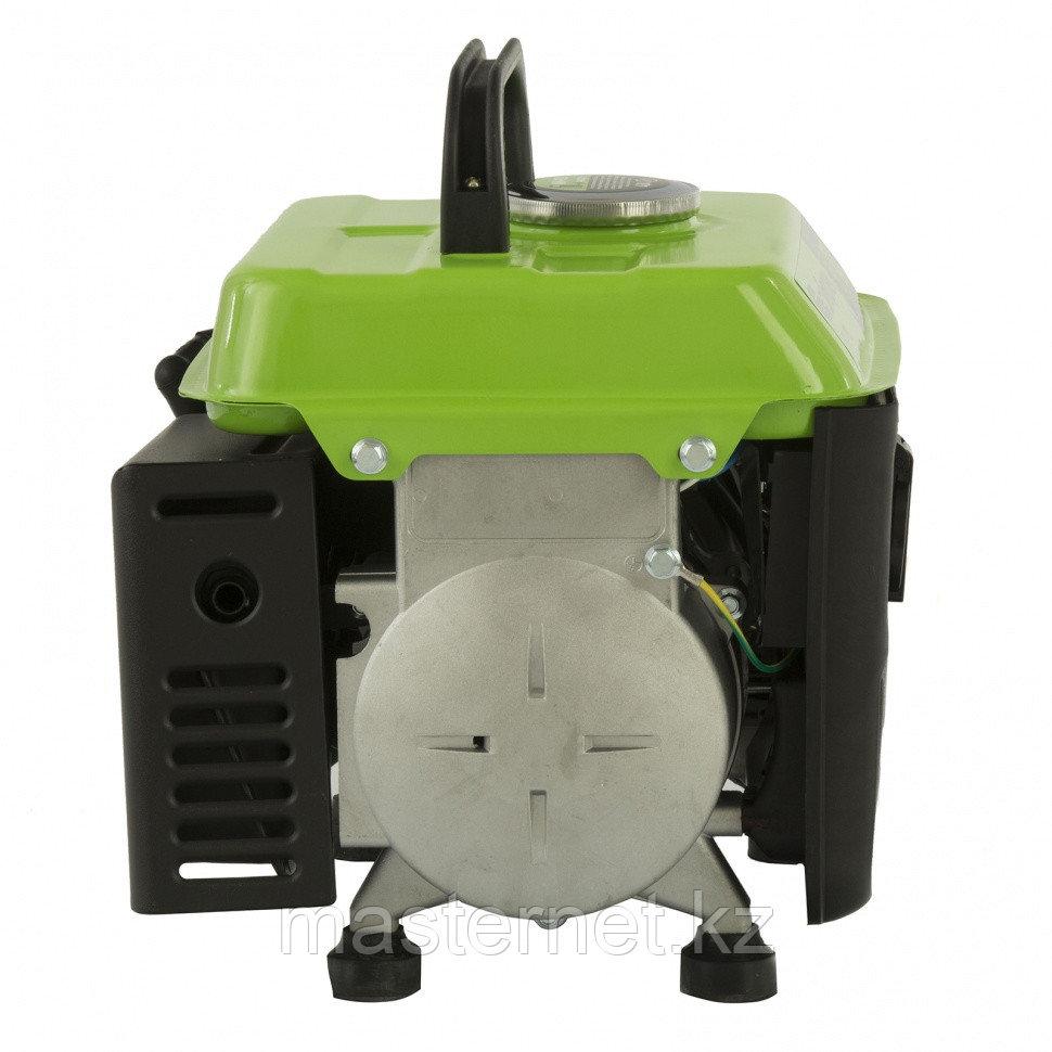 Генератор бензиновый БС-950, 0,8 кВт, 230 В, 2-х такт., 4 л, ручной стартер// Сибртех - фото 7