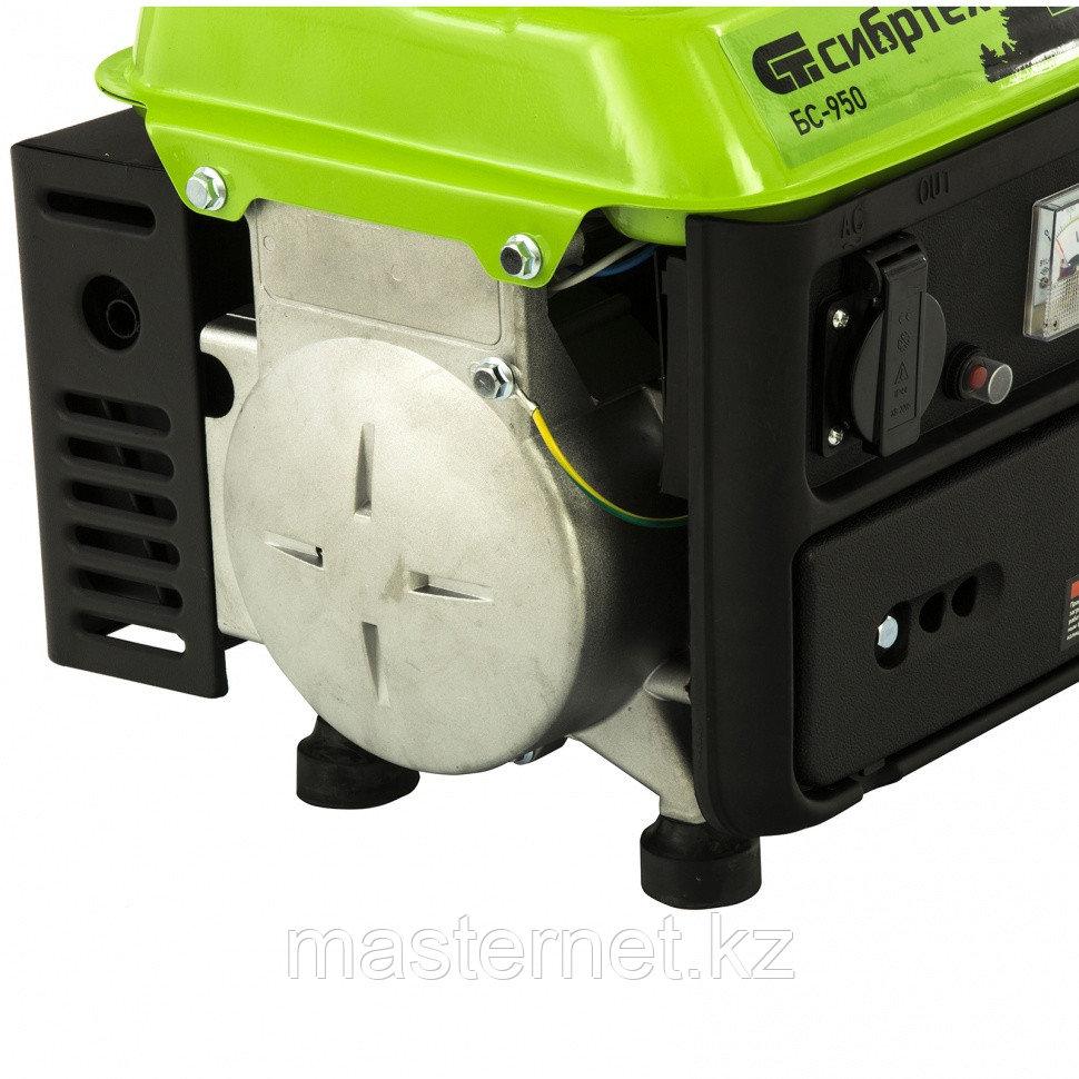 Генератор бензиновый БС-950, 0,8 кВт, 230 В, 2-х такт., 4 л, ручной стартер// Сибртех - фото 8