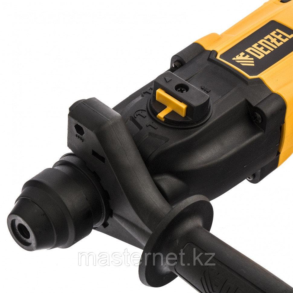 Перфоратор электрический RH-650-18, SDS-plus, 650 Вт, 2,0 Дж, 3 плюс 1 реж.// Denzel - фото 3