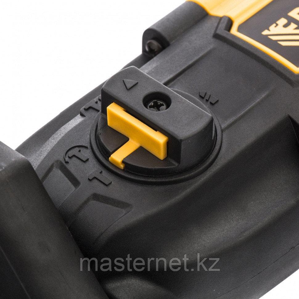 Перфоратор электрический RH-650-18, SDS-plus, 650 Вт, 2,0 Дж, 3 плюс 1 реж.// Denzel - фото 8