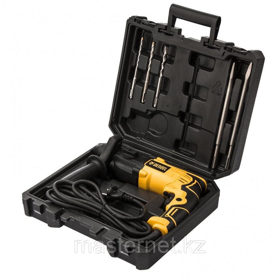 Перфоратор электрический RH-650-18, SDS-plus, 650 Вт, 2,0 Дж, 3 плюс 1 реж.// Denzel - фото 9