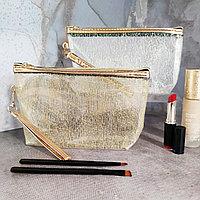 Женская косметичка полипропиленовая на молнии 23 см в ассортименте
