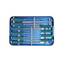 Набор инструментов для хирургии позвоночника PLIF PEEK Cage & Lumbar Titanium