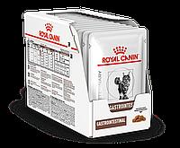 Пауч корм Royal Canin Gastro Intestinal для лечения нарушений пищеварения ЖКТ кошек - 12 x 100 г