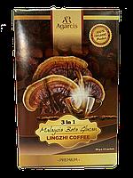Кофе с бета глюканом ганодермы Linzhi beta glucan coffee 3 in 1