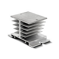 H3-040 Радиатор для трехфазного реле 40А, размеры