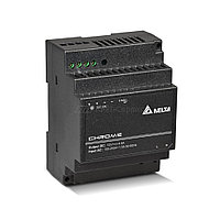 DRC-12V60W1AZ Модульный блок питания =12В, 60 Вт, 4,5А, пластиковый корпус, монтаж на DIN-рейку, 91x71x55.6мм,