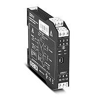 Z203-2 Модуль анализатор однофазной сети, Вход до 500В, 5А, 50Гц; Выход 1 канал 4..20 мА/0..10В, RS-485, micro