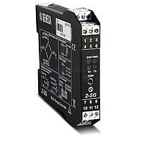 Z-SG Преобразователь сигнала тензодатчиков в весоизмерит. сист. Вход: Тензодатчик, Выход I=0