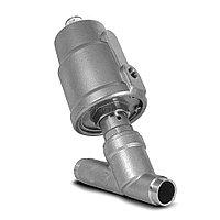 ASV-W-015-SS050-UNO Клапан с пневмоприводом, нерж., приварной DIN 11850 серия 2, 2/2 НО, Ду 15, T=