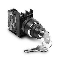 B100AC20 Переключатель с ключом 0-1, ключ вынимается в положениях 0 и 1