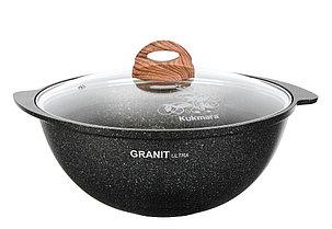 """Казан 3,5 литра """"Granit ultra"""" с каменным антипригарным покрытием"""
