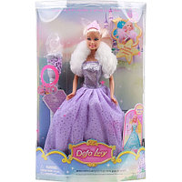 Кукла Defa с аксессуарами 8003 purple
