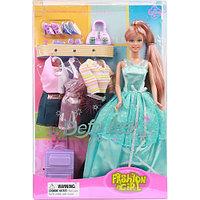 Кукла Defa Кукла Модница с нарядами и аксессуарами 8012