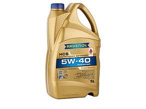 Масло моторное RAVENOL HCS SAE 5W-40, 5 л.