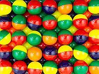 Мяч попрыгунчик 25мм производство Россия в упаковке (100 шт)