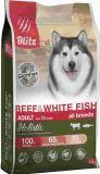 BLITZ  Holistic ADULT 500г ГОВЯДИНА и БЕЛАЯ РЫБА беззерновой корм для собак всех пород BEEF & WHITE FISH