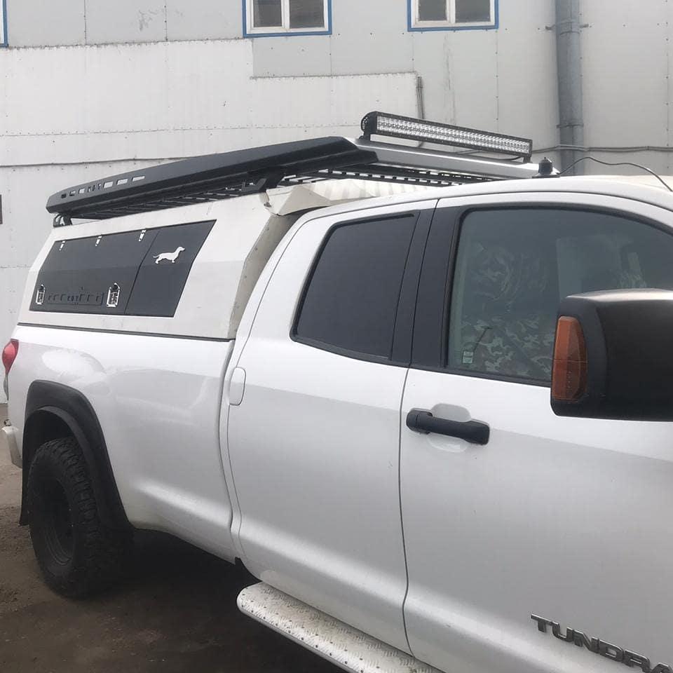 Кунг экспедиционный увеличенный трехдверный - Toyota Tundra Double Cab Long (2007-2013 г.в.)