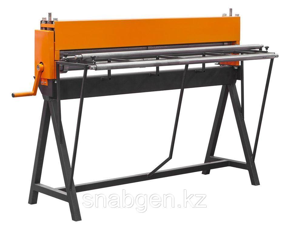 Станок механический продольной резки металла СПР-1250/3-Р толщиной до 0,8мм