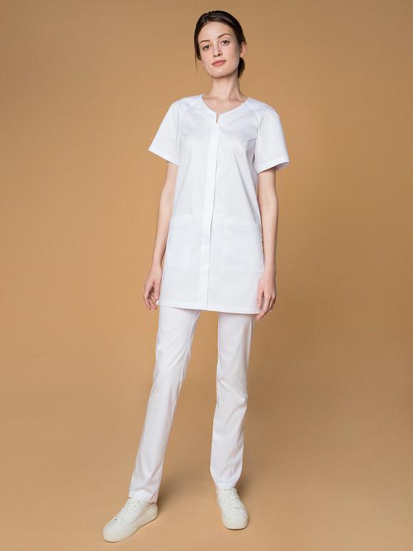 белый медицинский костюм цена