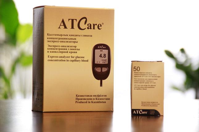 Экспресс-глюкометр AT Care, фото 2