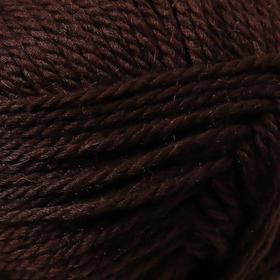 Пряжа 'Мериносовая' 50меринос.шерсть, 50 акрил 200м/100гр (251-Коричневый) - фото 10